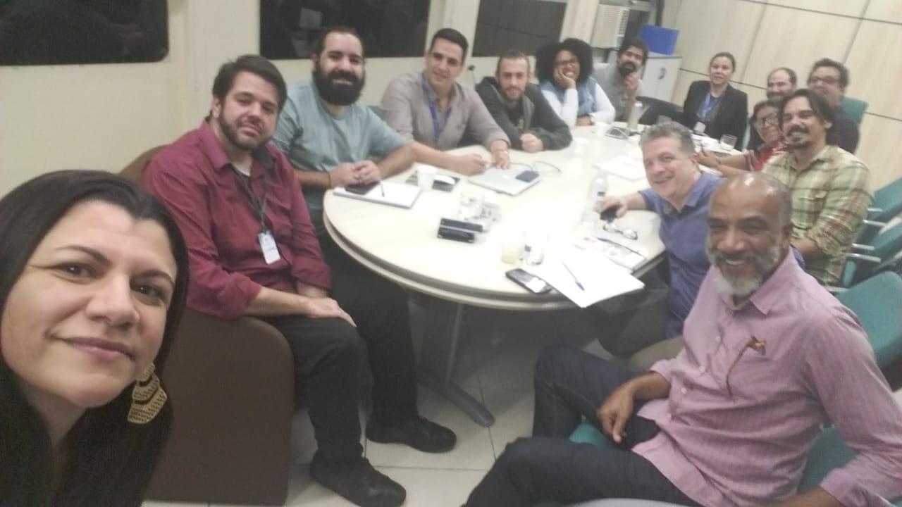 Reunião de colegiado (Final de 2019/2)