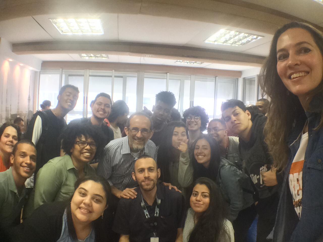 Inauguração da Sala Geek com a Poliana Alves (DUXcoworkers)