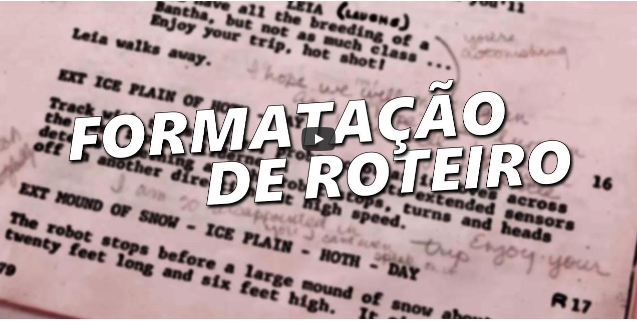 Aula de Roteiro (Formatação) – Professor Bruno Arruda