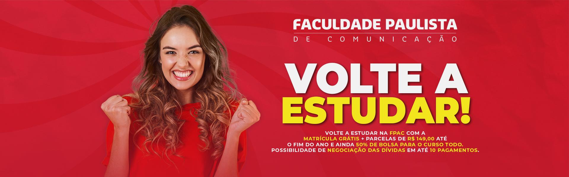 Banner-FPAC-VOLTE A ESTUDAR